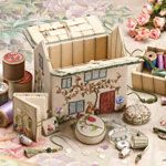 Home Sweet Home - Full Embroidery Kit   available thru Country Bumpkin - love their Inspirations!