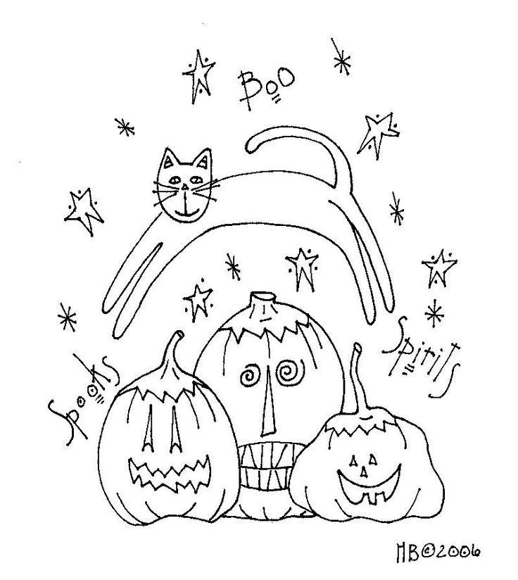 .: Pumpkin Patterns, Pumpkins Pattern, Cat Block, Craft, Free Pattern ...