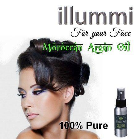 illummi Argan Oil for your face.