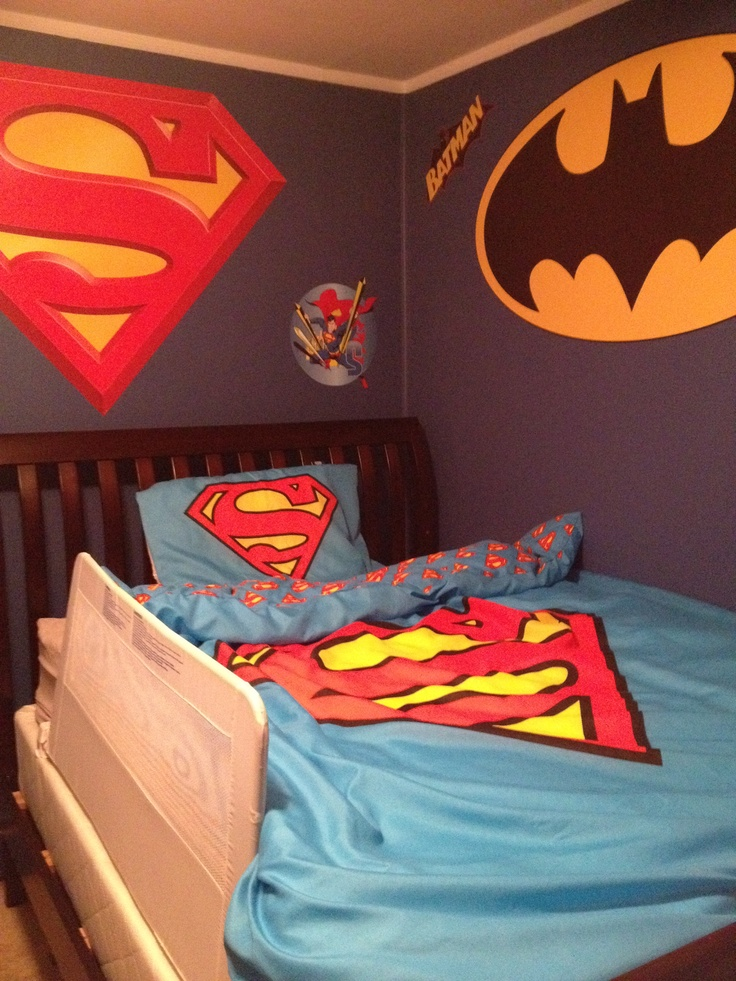 22 best images about superhero room on pinterest - Superman room decorating ideas ...