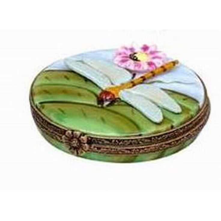 Limoges Box Dragonfly | Limoges Boxes | Handpainted Porcelain | Collectables | ScullyandScully.com
