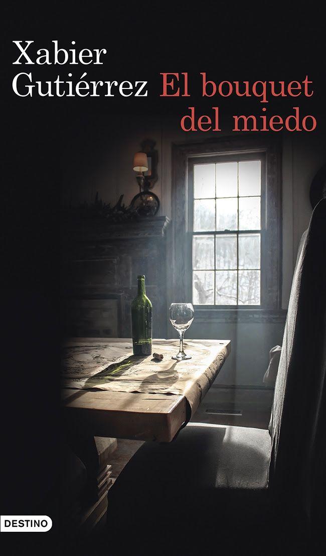 El Bouquet del Miedo por Xabier Gutiérrez. El Bouquet del Miedo por Xabier Gutiérrez. En pleno mes de septiembre, tiempo de vendimia, y a pocos días para que empiece la recolección de la uva, al subcomisario de la Ertzaintza Vicente Parra le asignan la investigación del asesinato de la enóloga Esperanza Moreno, encargada hasta entonces de la elaboración del vino de las Bodegas Sáenz de la finca Marbil, una de las más prestigiosas haciendas de La Rioja, y productora del apreciado vino VVV.