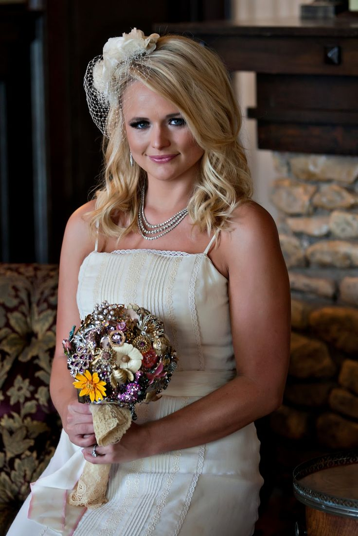 Miranda Lambert's country style fit perfectly into her big day