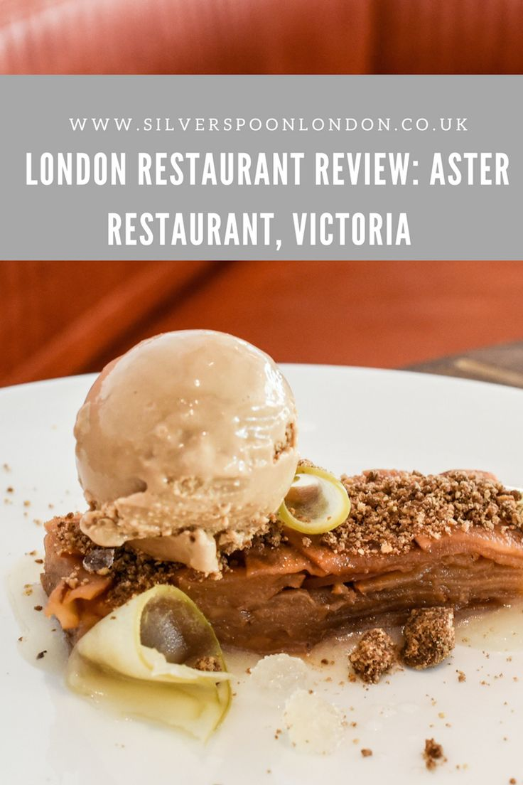 #InteriorGoals and Delicious Food at Aster Victoria - SilverSpoon London