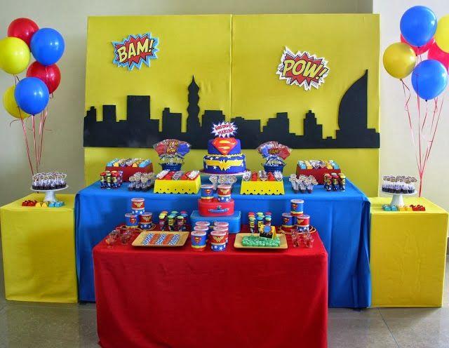 Festa Super Heróis!!!