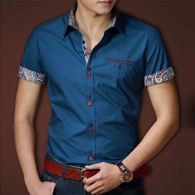 2016 Men Shirts Casual Cotton camisas Male camisa Mens Dress shirt camisa social tommy slim fit clothes masculina manga longa