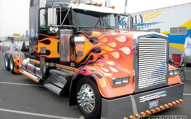 tricked out big rigs | West Coast Customs Big Rig Show - Show 'N' Race Photo Gallery