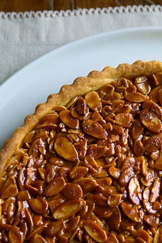 Tangerine and Almond Shortbread Tart | Food and Libations | Pinterest