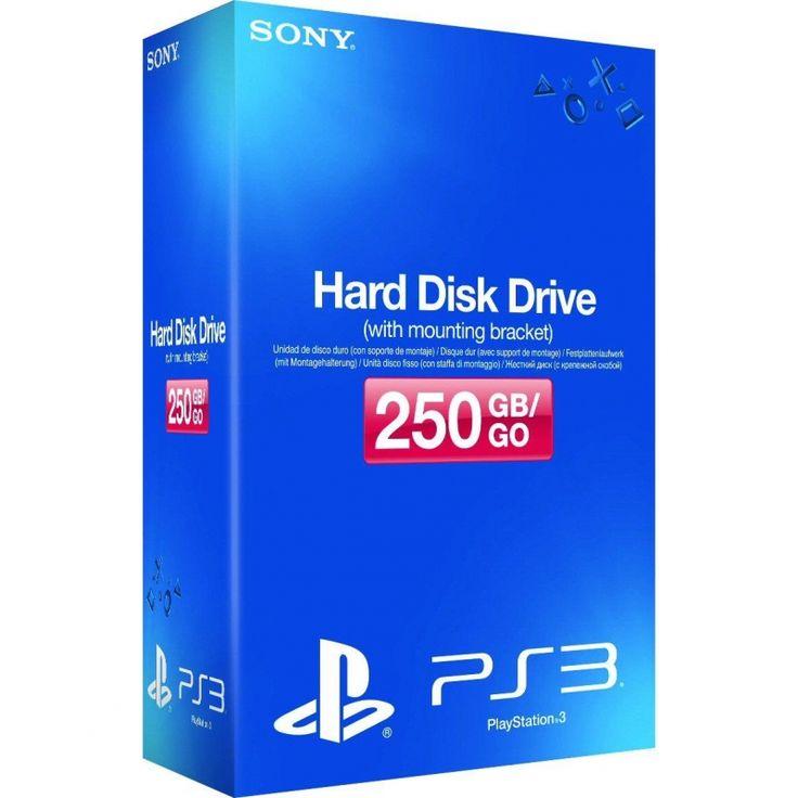 Sony Internal HDD (250 GB), PlayStation 3 Accessory, Black