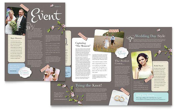 Event Planner Marketing Ideas | Wedding Planner - Newsletter Design