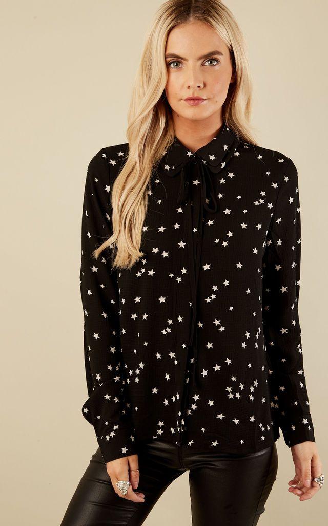b71c0f3f71 Black Star Blouse