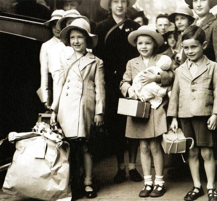 London Evacuees - 1 September 1939 My mother & her siblings were evacuated from London during WWII
