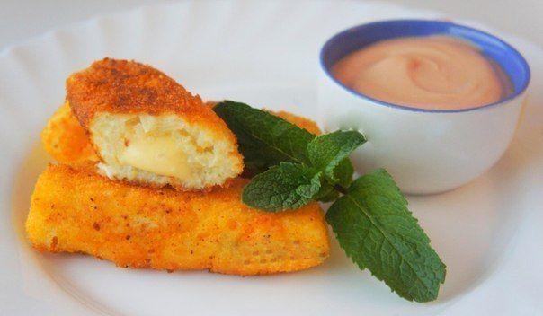 Картофельные палочки с сыром | Kurkuma project (Проект Куркума)