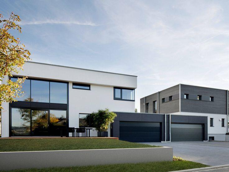 27 besten doppelhaus bilder auf pinterest flachdach moderne h user und barrierefrei. Black Bedroom Furniture Sets. Home Design Ideas