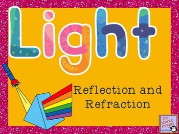 Printables Reflection And Refraction Worksheet 1000 ideas about light reflection and refraction on pinterest powerpoint notes