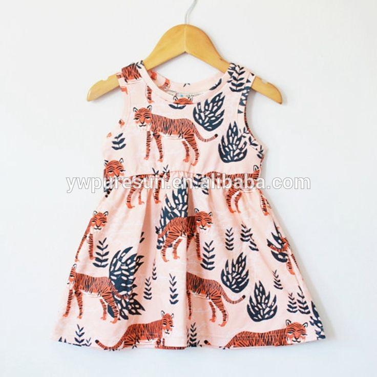 Factory direct remake frock design cotton boutique girls dresses