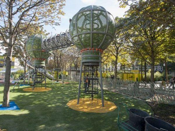 Le Terrain D Aventures Jardin Nelson Mandela Parcs De Loisirs