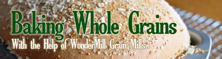Baking Whole Grains (With the Help of WonderMill Grain Mills) Wheat Chocolate Cinnamon Yeast Bread