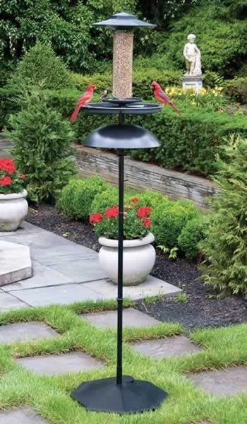 easy fill bird feeder