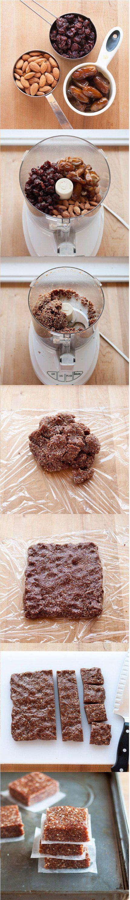 Jednostavni i zdravi deserti: Napravite odlične energetske pločice sa samo tri sastojka