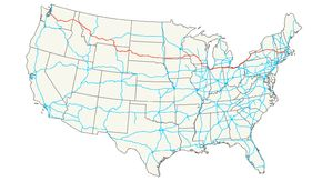 I-90 Road trip. I'd love to start from home and drive to Boston.