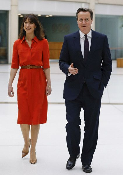 Samantha Cameron Photos - The Conservative Party Election Campaign Tour Bus Week Two - Zimbio