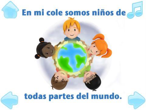Spanska för barn: Una dia de cole