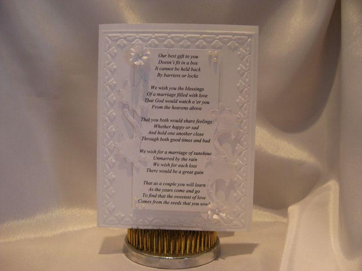 17 Ideas About Wedding Card Verses On Pinterest