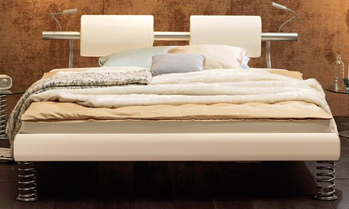 Bett 120x200 cm ideal für Gästezimmer oder Single Wohnung
