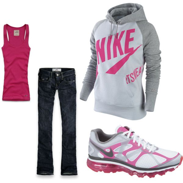 love it!!!Sporty Outfit, Sports Mom Outfit, Weekend Outfit, Weekend Style, Work Out, Pink Nike, My Style, High Schools, Workout