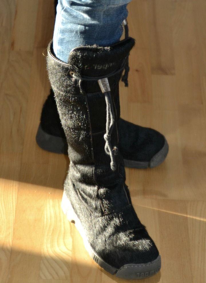 Super fede og ikke mindst VARME støvler fra det italienske mærke Bumper. Uhhhh, bliver godt.