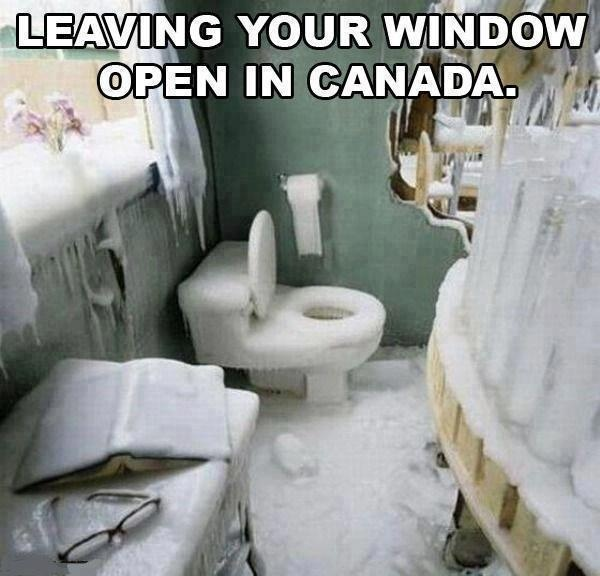 Meanwhile in Canada, eh