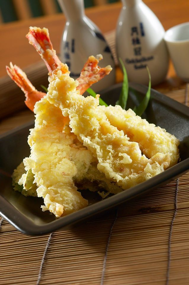 "Let's have Tempura for dinner! ""Akatonbo Teppanyaki"" is located by the poolside. Email for reservation: fb.secretary@holidayinn-batam.com"