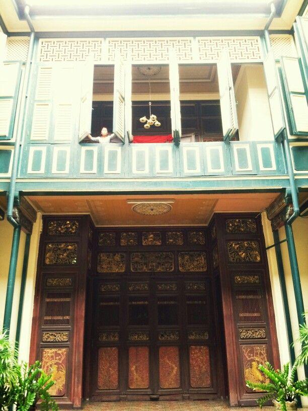 Tjong A Fie Mansion. Medan, North Sumatera, Indonesia.