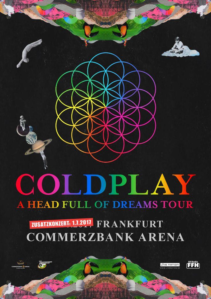 Plakat - Zusatzkonzert | Coldplay Frankfurt
