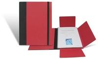 Carpeta Ecológica para la presentación de Documentos.    Tamaño: 23 x 31 cm. DIN A-4.  3 solapas interiores