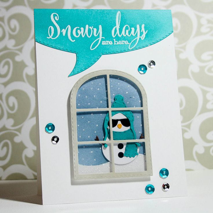 I scrap my way: My Creative Time - Snowy Days are Here...
