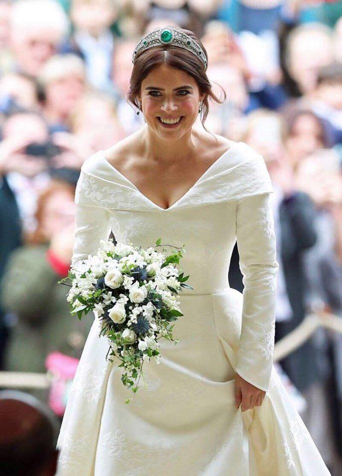 Prinzessin Eugenie Von York Jack Brooksbank Alle Details Zur Hochzeit Royale Hochzeiten Prinzessin Eugenie Braut