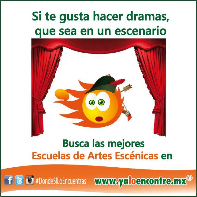 #Servicios #Escuelas #ArtesEscénicas #México Entra a: www.yaloencontre.mx