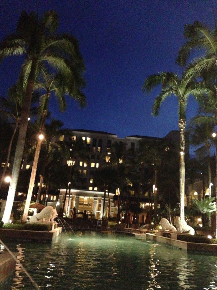 San Francisco Map Ritz Carlton%0A The Ritz Carlton San Juan   night by the pool