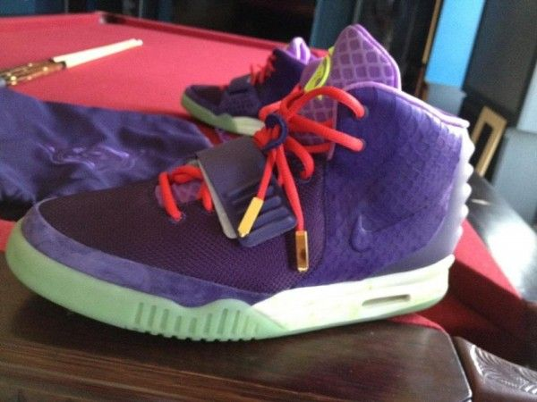 Nike Air Yeezy 2 Red Purple x Kobe Bryant « Cheetah »