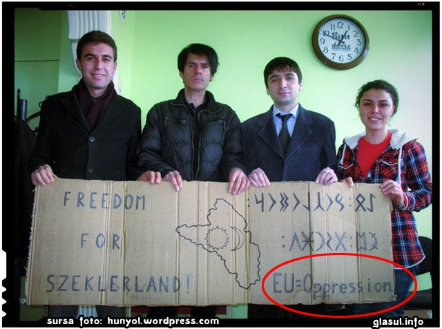 Dovada ca rusii stau in spatele miscarilor extremiste maghiare din Romania