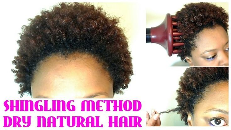 No Wash! Define And Go On Short Natural Hair Using The Shingling Method