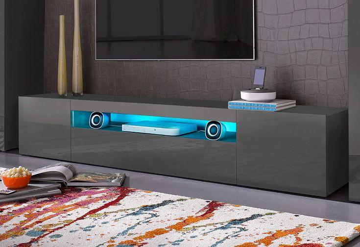 TECNOS Lowboard grau, FSC®-zertifiziert Jetzt bestellen unter: https://moebel.ladendirekt.de/wohnzimmer/schraenke/lowboards/?uid=dfb31e55-62d0-5c1f-b17e-9513e984fc46&utm_source=pinterest&utm_medium=pin&utm_campaign=boards #schraenke #lowboards #wohnzimmer