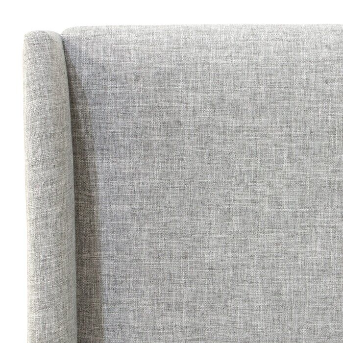 Alrai Upholstered Standard Bed (With images) Wingback