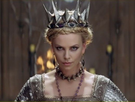 Charlize Theron as Queen Ravenna from Snow White and the Huntsman