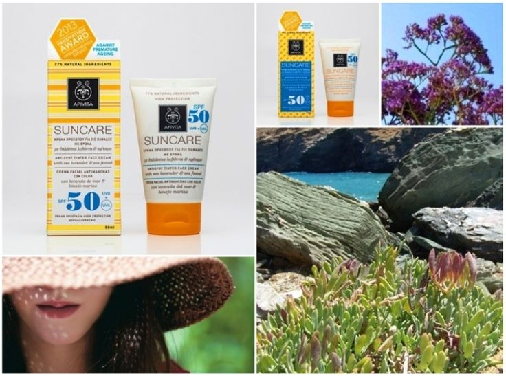 Sun care face cream (SPF 50 and UVA 26) with patented propolis that combats photoaging, treats brown spots, discolorations and freckles, while preventing the formation of new ones. Suitable for skin that suffers from or has a tendency to develop discolorations. Ideal for use during pregnancy or menopause.