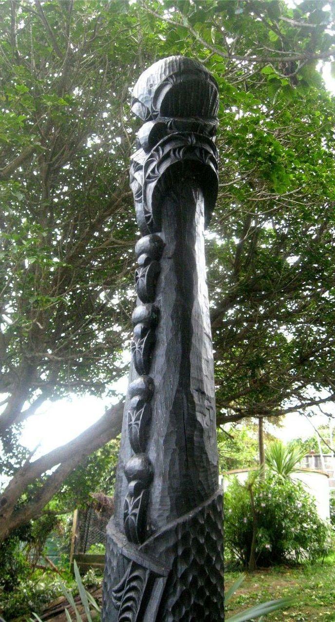 Chris Bailey sculpture - Waiheke Island, NZ