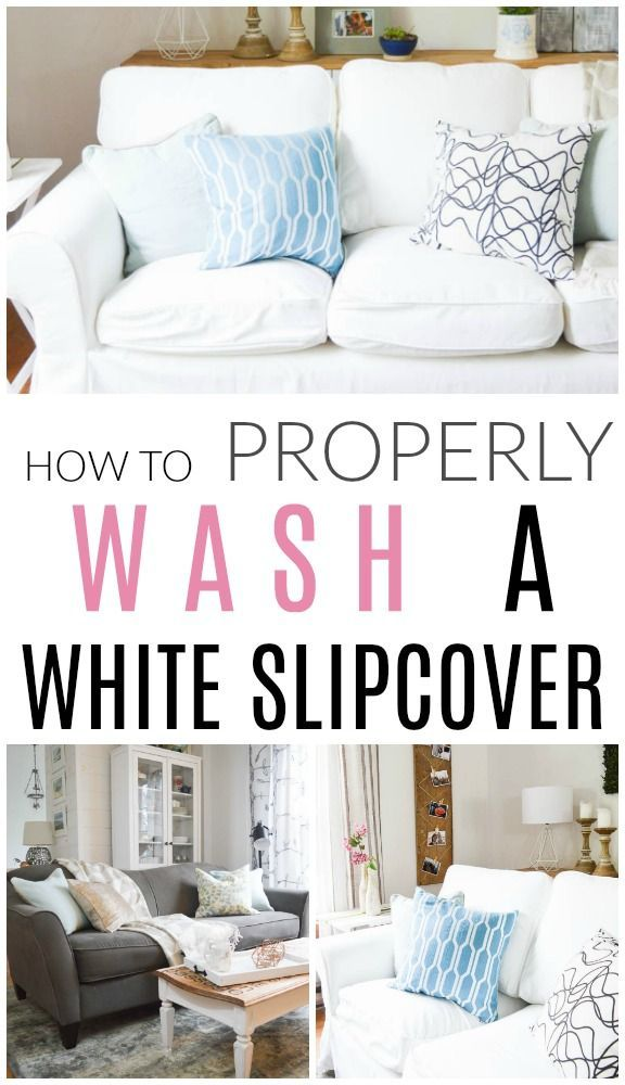 The Three Best Ways To Clean A Sofa Clean Sofa White Slipcovers Second Hand Sofas