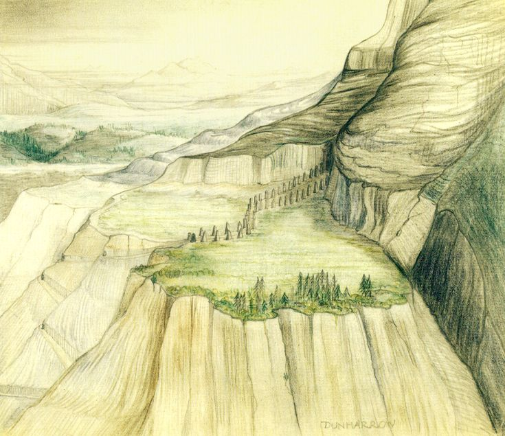 best the art of j r r tolkien images middle  dunharrow j r r tolkien